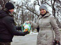 Запорожцы устроили военным «сладкую жизнь» (Фото)