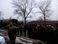 В Запорожье вернулись защитники Донецкого аэропорта