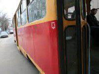 В Запорожье трамвай сбил пешехода