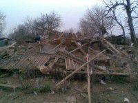 В Запорожской области дом взлетел на воздух