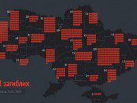 Запорожская область занимает 14 место по потерям в зоне АТО