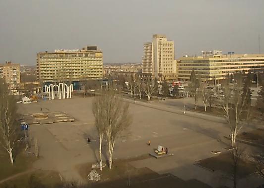 Веб-камеры Запорожья: площадь Фестивальная