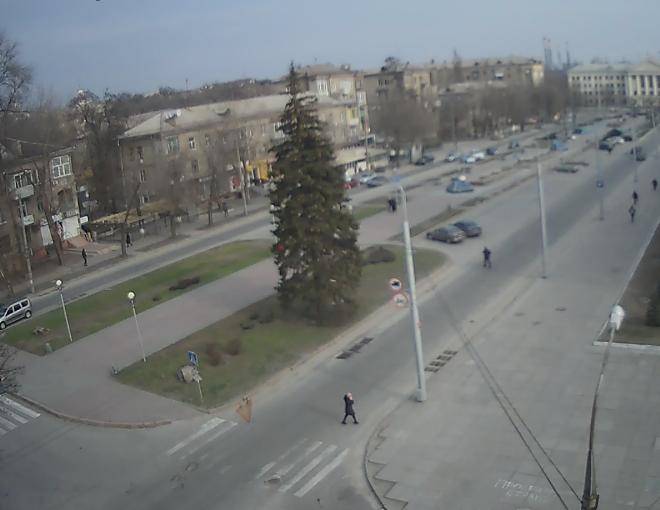 Веб-камеры Запорожья: бульвар Шевченко