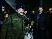 В Запорожье спустя полгода плена вернулся свободовец