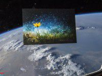 Астронавты НАСА взяли с собой в космос снимок запорожского фотографа