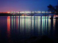 В Запорожье по просьбе милиции подсветят мосты Преображенского