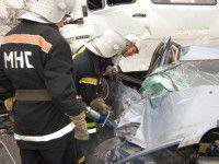 В Запорожской области водителя зажало в «КАМАЗе»