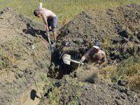 В Мелитополе снова будут рыть окопы