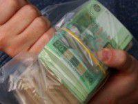Под Запорожьем задержали маршрутку, набитую деньгами