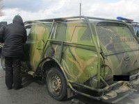 На блокпосту задержали лжевоенного на угнанном авто