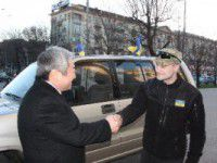 Запорожский мэр купил для армии автомобиль
