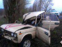 Запорожский военный попал вместе с пьяным водителем в ДТП