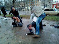 В перестрелке пострадали двое переселенцев с Донбасса