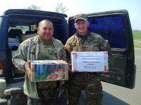 Запорожские солдаты раздадут куличи в детские дома