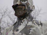 В Мелитополе изуродованный Ленин пугает прохожих