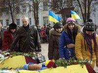 Сегодня в Запорожье прощаются с бойцами, подорвавшимися на мине