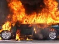 В Запорожье взорвался внедорожник с водителем