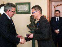 Активист из Запорожской области получил орден из рук польского президента