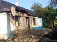 В Запорожской области из-за взрыва баллона с газом загорелся дом