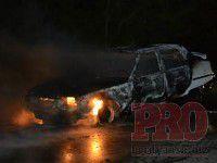 У жителя Запорожской области сгорело авто, пока он ходил за огнетушителем