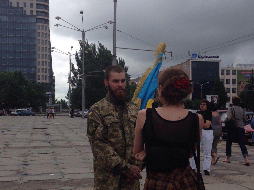 База военных находится в Широком, под Запорожьем.