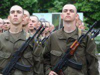 В Запорожье ряды Нацгвардии пополнили более сотни солдат