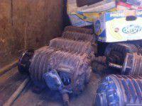 На блокпосту остановили грузовик с украденным с донецких заводов оборудованием