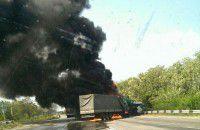ДТП с участием двух фур: одного из водителей спасти не удалось