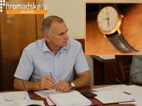 Экс-начальник управления милиции Запорожья носит часы за четверть миллиона