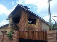 В Запорожье у организатора свадеб сгорел дом