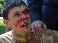 Запорожского свободовца побили на гей-параде в Киеве
