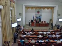Ряды запорожских депутатов пополнил коммунист, сидевший за антиукраинские акции