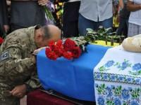Запорожские военные простились с погибшим разведчикам