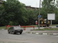 В Запорожье перекрыли участок дороги возле областного управления МВД