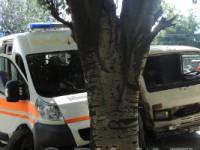 В Запорожской области грузовик влетел в «скорую»