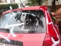 Машину сестры запорожского активиста снова повредили