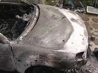 В Запорожской области от пожара и взрыва пострадали две машины