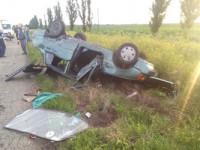 В ДТП на запорожской трассе пострадали четыре человека
