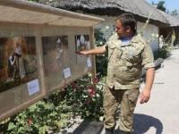 От Киевской Руси до АТО: на Хортице открылась выставка с портретами воинов