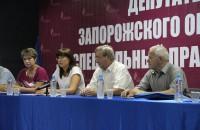 В Запорожской области законопроект о специальном правовом режиме находит все больше сторонников–депутатов