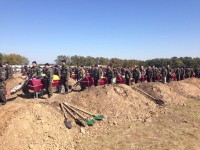 Под Запорожье в братской могиле похоронят 55 неопознанных бойцов