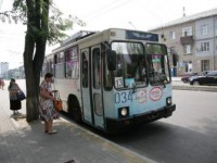 Запорожцы жалуются на перебои в работе троллейбуса по обновленному машруту