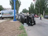 В Запорожской области грузовик протаранил маршрутку (ФОТО)
