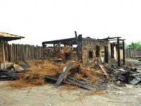 Обнародованы фото пожара на территории «Запорожской Сечи»