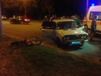 На Бабурке столкнулись две легковушки (Фото)