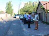 В Мелитополе во двор судьи бросили гранату