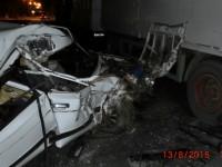 В Запорожской области «Жигули» врезались в грузовик: есть пострадавшие