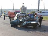 В ДТП на плотине погиб пассажир легквушки