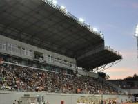На воскресном матче в Запорожье установлен новый рекорд посещаемости