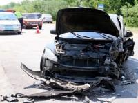 Число пострадавших в аварии на запорожской трассе выросло до 7 человек